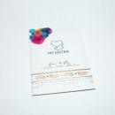 custom printed envelope packaging for custom metallic flash temporary tattoos