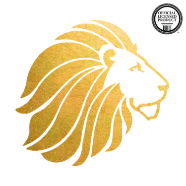 alpha delta pi temporary tattoo for sorority, mascot lion