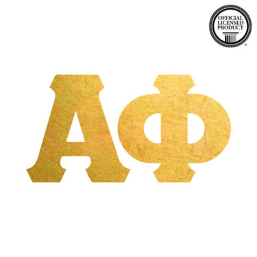 alpha phi greek letters temporary tattoo for sorority