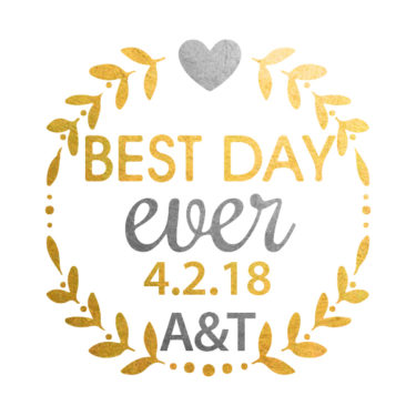 besy day wedding temporary tattoo metallic gold, custom flash tattoo, wedding personalized tattoo