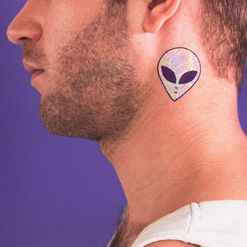 holographic custom temporary tattoos