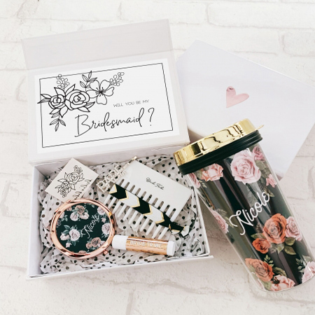 swag bag with tattoos for bachelorette party gift