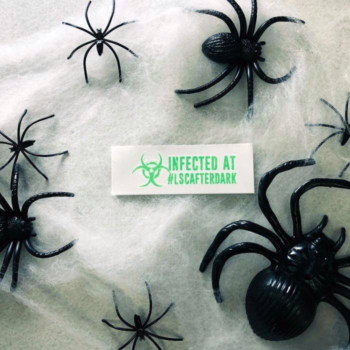 LSC After Dark Monster Masquerade - custom temporary tattoos for Liberty Science Center Museum